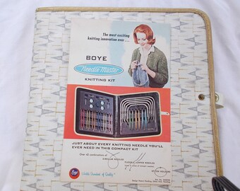 Vintage Boye Needle Master