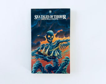 SEA TALES Of TERROR / Edited by J.J Strating / Vintage Fontana books Horror Anthology Paperback book