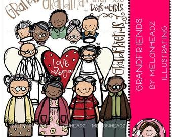 Grandparents clip art - Grandfriends