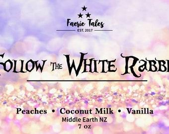 Follow the White Rabbit 7oz Soy Candle