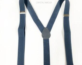 mens gray suspenders, black guitar bowtie set  - black bow tie and gray suspenders for children 6 and up, teens and adults, mens suspenders