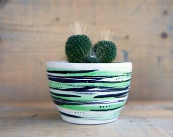 bonsai pot, ceramic pot, orchid pot,succulent planter, plant pot indoor,cache pot,flower pot, succulent plants,succulent gift,succulent pots