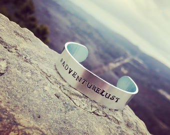 Thick #AdventureLust Bangle