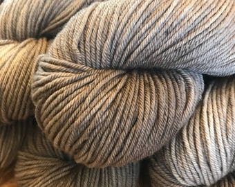 Riverstone  Hand Dyed WorstedWeight Merino Yarn Knit Crochet Weave Supplies