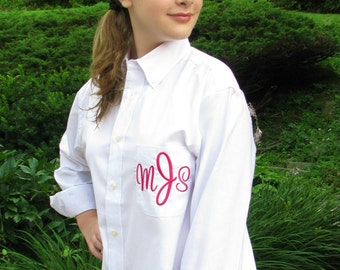 Bridal Party Shirt  - Wedding Party Shirt in blue or white