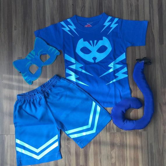 & Catboy Superhero Summer Outfit
