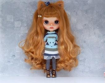 "Custom Blythe doll OOAK ""Iriska"" from Katalena"