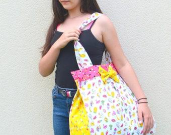 Beach bag, large tote bag women, young girl.