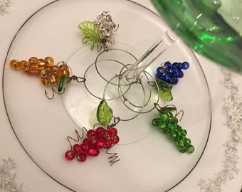 Wine Glass Charms - 5 for 12
