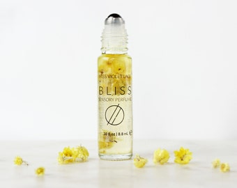 BLISS perfume | Sensory Perfume with Rose, Citrus, Coconut and more | 100% natural and vegan