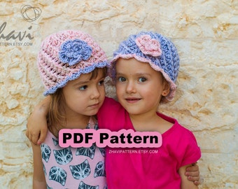 085512bc4f0 ... australia chook toque beanie crochet hat pattern 23 pinkblue childrens  wool hat with flower step by