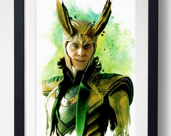There are no men like me - Loki Print
