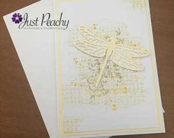 Dragonfly Yellow Card