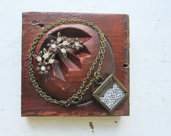 ONE Bracelet / Ring  / Necklace Jewelry Display - Recycled Antique Architectural Salvage