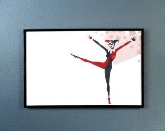 Harley Quinn BTAS Batman the Animated Series Art Print
