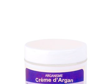 Argan  facial day cream with lavender