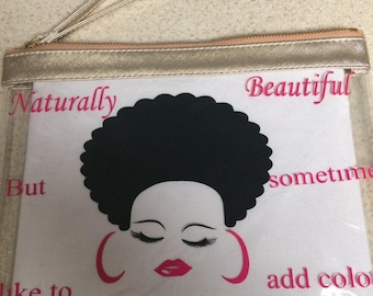 Natural Beauty Lips & Lashes carrier case