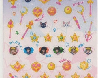 Sailor Moon Icon Schedule Stickers - Reference A5267-69A6418