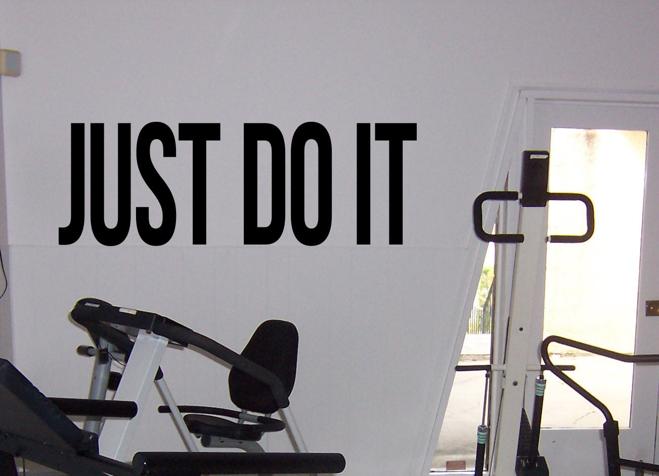 Just Do It Quotes Just Do It Fitness Daily Motivation Vinyl Decal Workout Gym