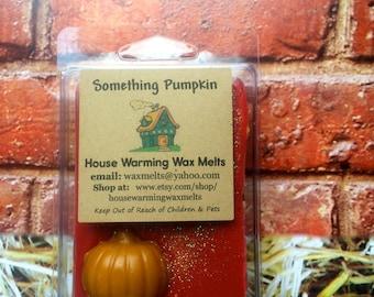 Something Pumpkin Wax Melts - House Warming Wax Melts, clamshell packaging