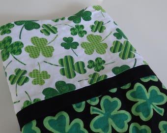 Clover, Shamrock, Trefoil, St. Patrick's Day Pillowcase