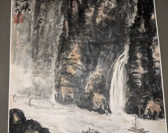 Beautiful Chinese watercolor painting!