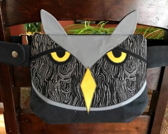 Owl Fanny Pack- Animal Fanny Pack- Bum Bag- Hip Bag