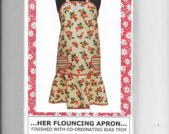 Her Flouncing Apron Pattern