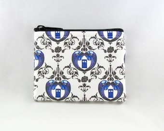Doctor Who Coin Purse - Coin Bag - Pouch - Accessory - Gift Card Holder