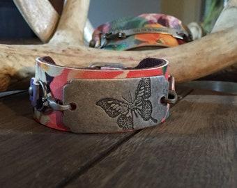 Fairytale Floral Cuff Bracelet
