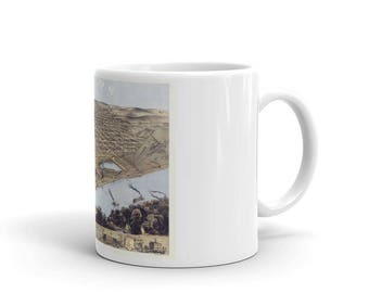 Coffee Mug - Omaha Nebraska 1868