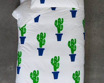 Limited Edition Cactus On Your Mattress Quilt Cover Set