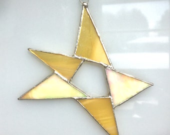 Funky stained glass star