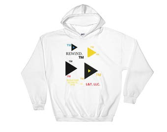 Hooded Sweatshirt REWiND. © TM All Rights Reserved.