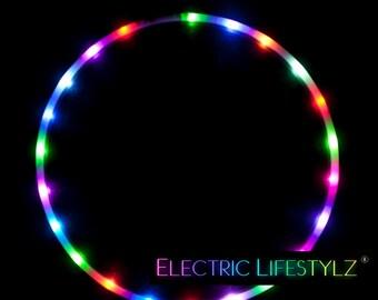 The Orginal Cotton Candy Rainbow - LED Hula Hoop