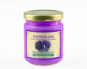 Wonderland Scented Soy Candle - Alice in Wonderland
