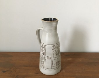 modernist Lapid of Israel pottery pitcher