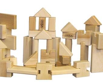 LITTLE BUILDER 52 Piece Block Set