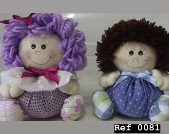 Hand made original couple dolls for unique gifts made in Italy handmade creation ideas