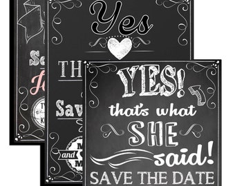 Free Drinks Save The Date Funny Save The Dates Rustic Save The - Funny save the date templates