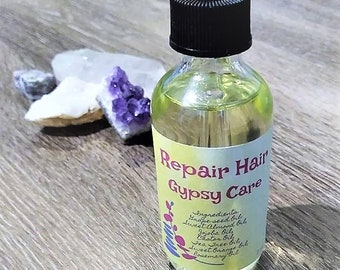 Repair Hair Gypsy Care || Organic Hair Treatment || Hair Oil || 2oz