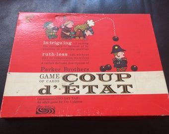 Coup d Etat ,                              Vintage 1966 board game