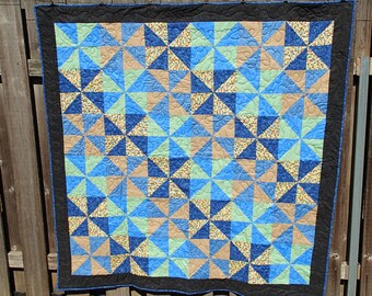 Pinwheels lap quilt ON SALE!!