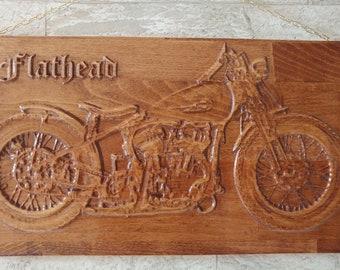 Harley Davidson, Flathead, wall decoration