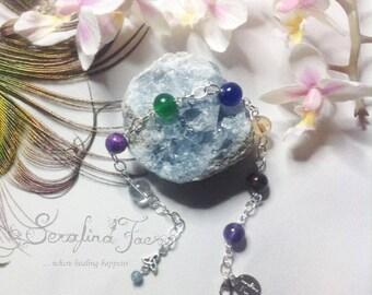 Birthstone Jewelry Custom Made Bracelet Aries Taurus Gemini Cancer Leo Virgo Libra Scorpio Sagittarius Capricorn Aquarius Pisces Gift Idea