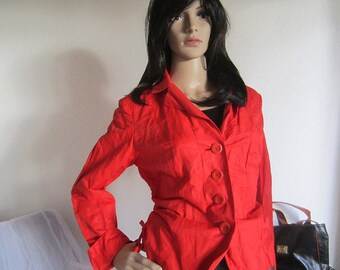 Vintage 90s Airfield Red jacket S/38