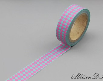 Washi Tape - Masking Tape - Japanese Washi - Deco Tape - Gift Wrap - Filofax - MT169