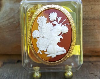 Fairy Cameo Music Box
