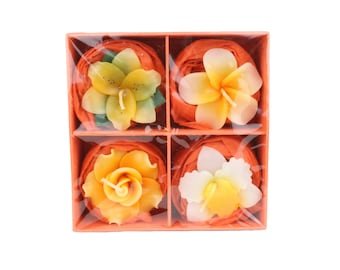 Homemade Floating Candles Gift Set Of 4
