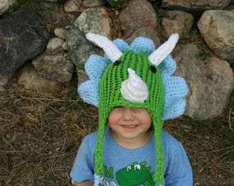 Triceratops Hat
